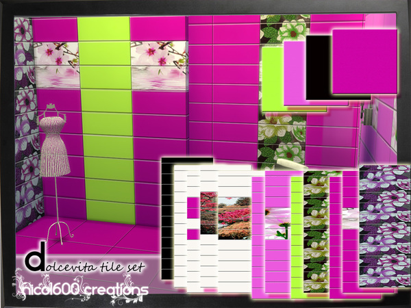 Dolcevita tile set by nicol600