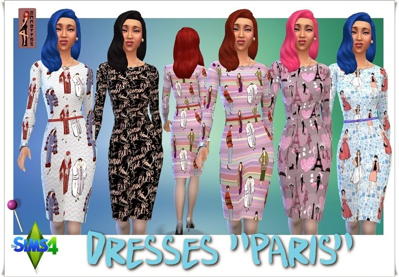 Paris dress by Annett85