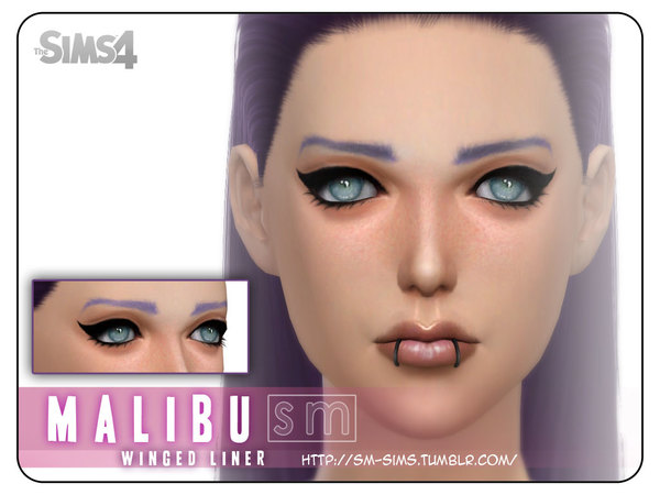 [ Malibu ] - Winged Liner by Screaming Mustard