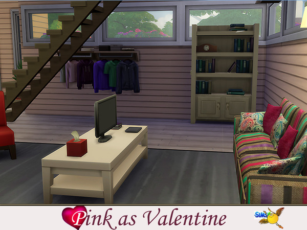 evi Pink as Valentines