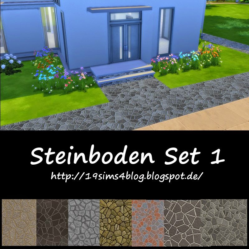 Stone flooring Set 1 at 19 Sims 4 Blog