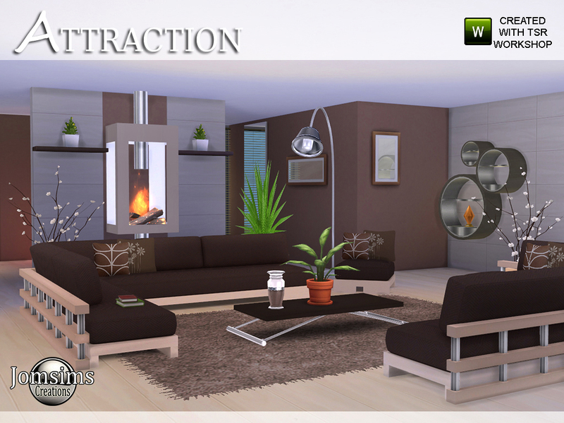 Attraction living room BY jomsims