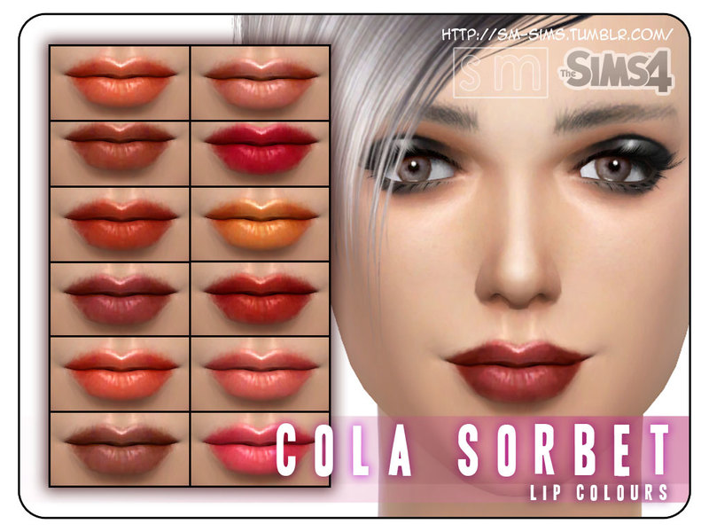 [ Cola Sorbet ] - Lip Recolours  BY Screaming Mustard