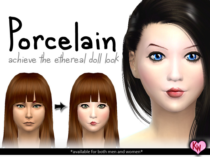 Porcelain Face BY kokoroworks