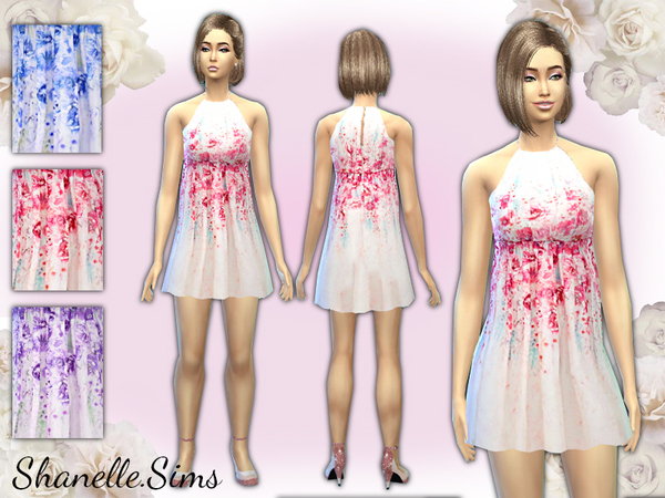 Romantic Rose Floral Dress by shanelle.sims