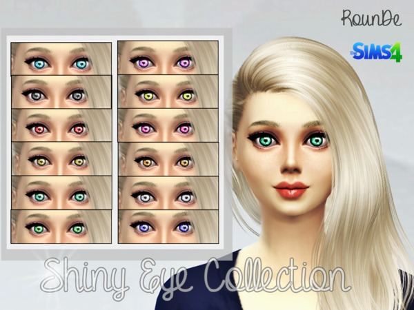 Shiny Eye Collection 2 by RounDe