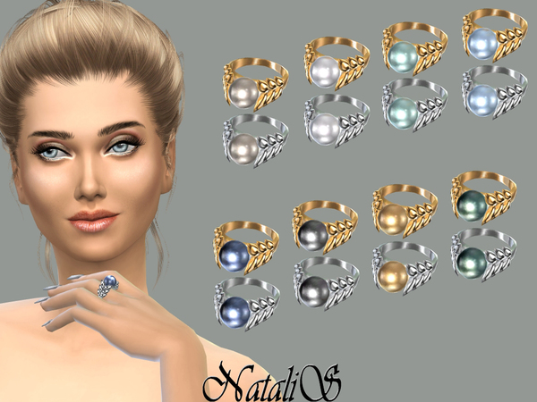 NataliS_Spike and pearl ring FA-FE