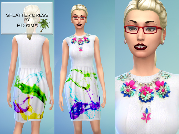 Splatter Dress by PDsims
