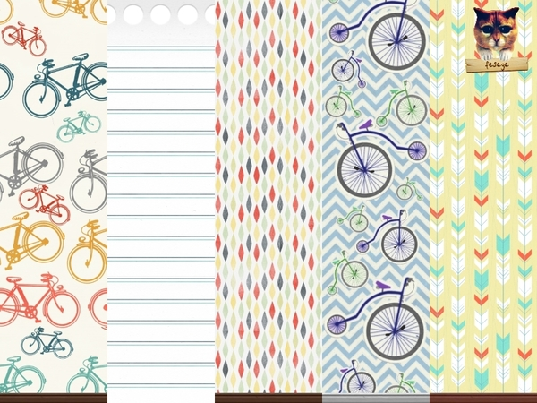 Playful Wallpaper Set by fesege