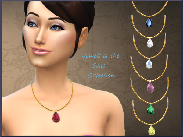Jewels of the Seas Necklace Collection by alin2