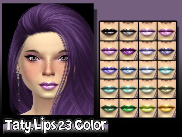 [Ts4]Taty_Lips_23_Color by tatygagg