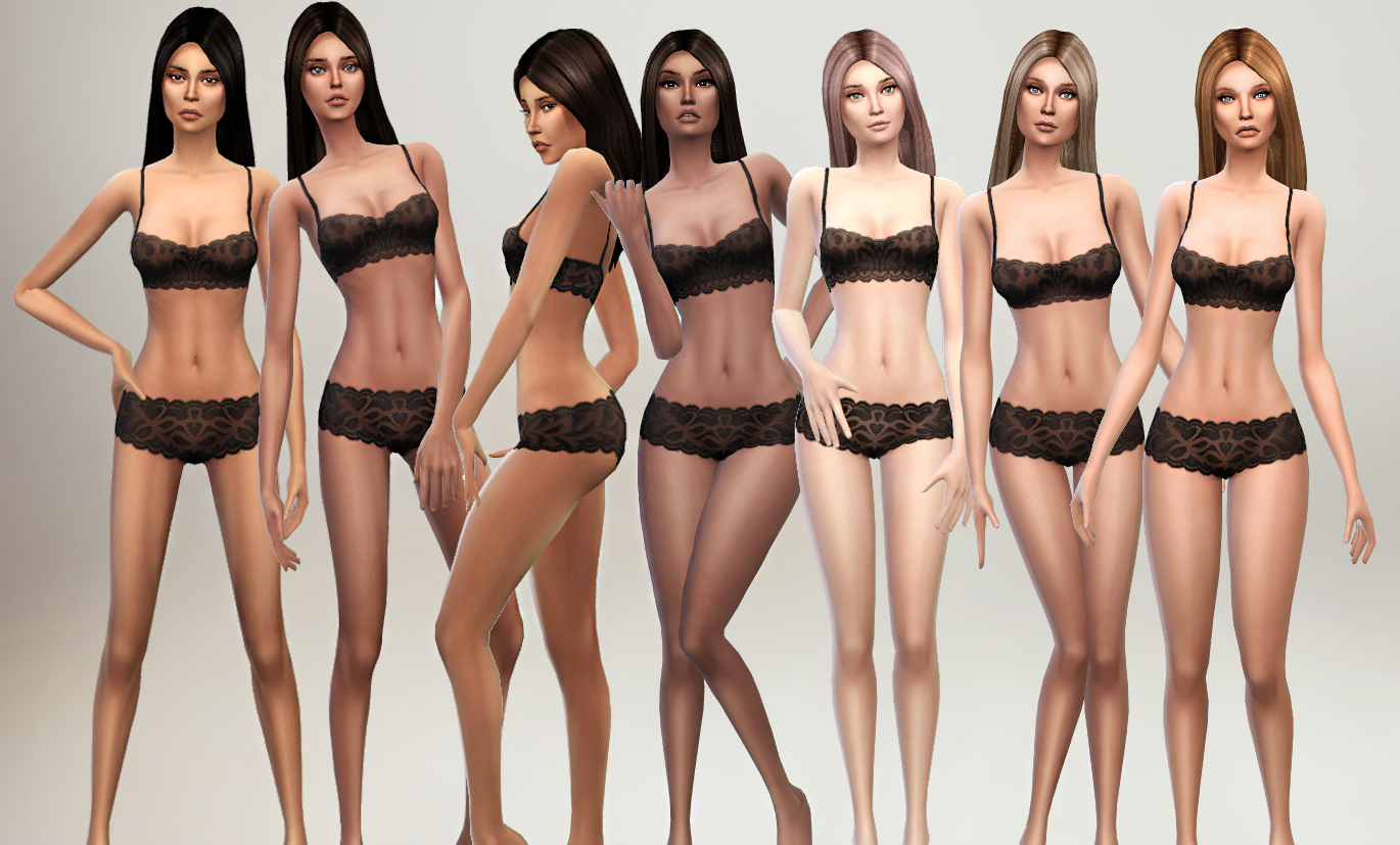 Envy Skin for Females by S4Models
