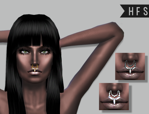 NOSE RING at HAUT FASHION SIMS