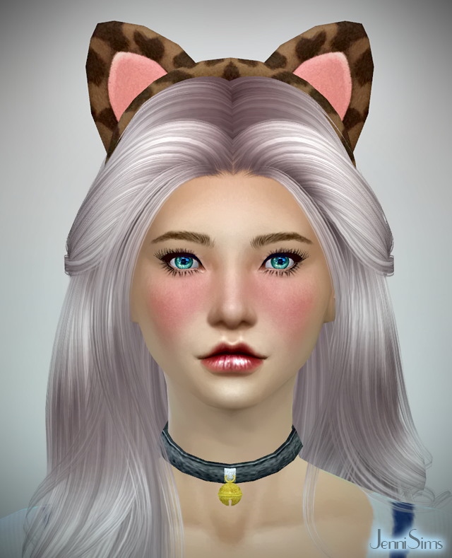 Kitty Headband New Mesh at Jenni Sims