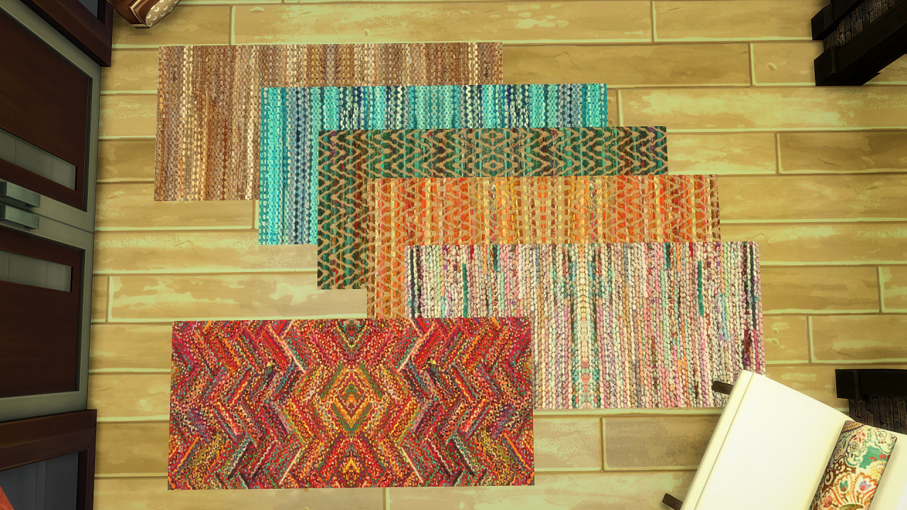 Woven and Rag Rugs by WhimsyPix