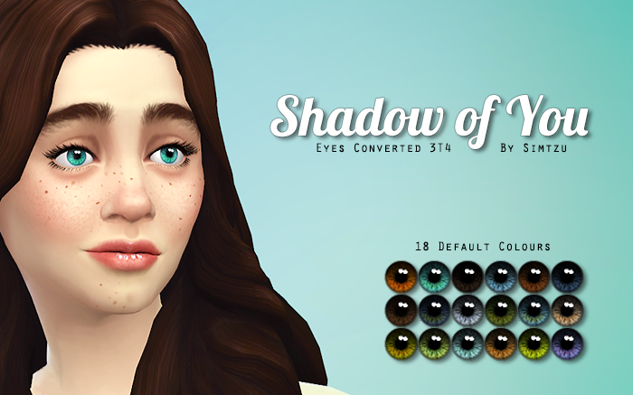 TS3 to TS4 - Show of You Default Eyes by Simtzu