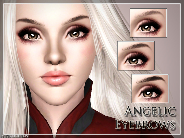 Angelic Eyebrows by Pralinesims