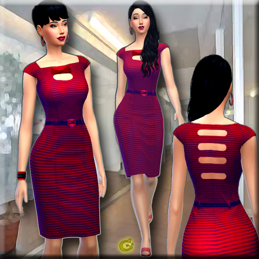 Office Dress by Gabriella