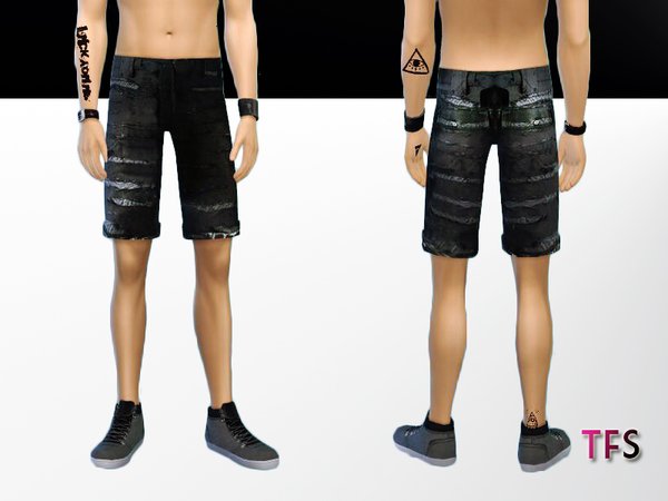 Ripped Shorts by TwistedFate Sims