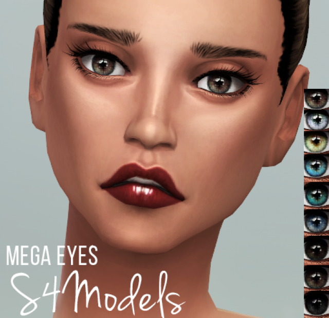 Mega Eyes for females by S4Models
