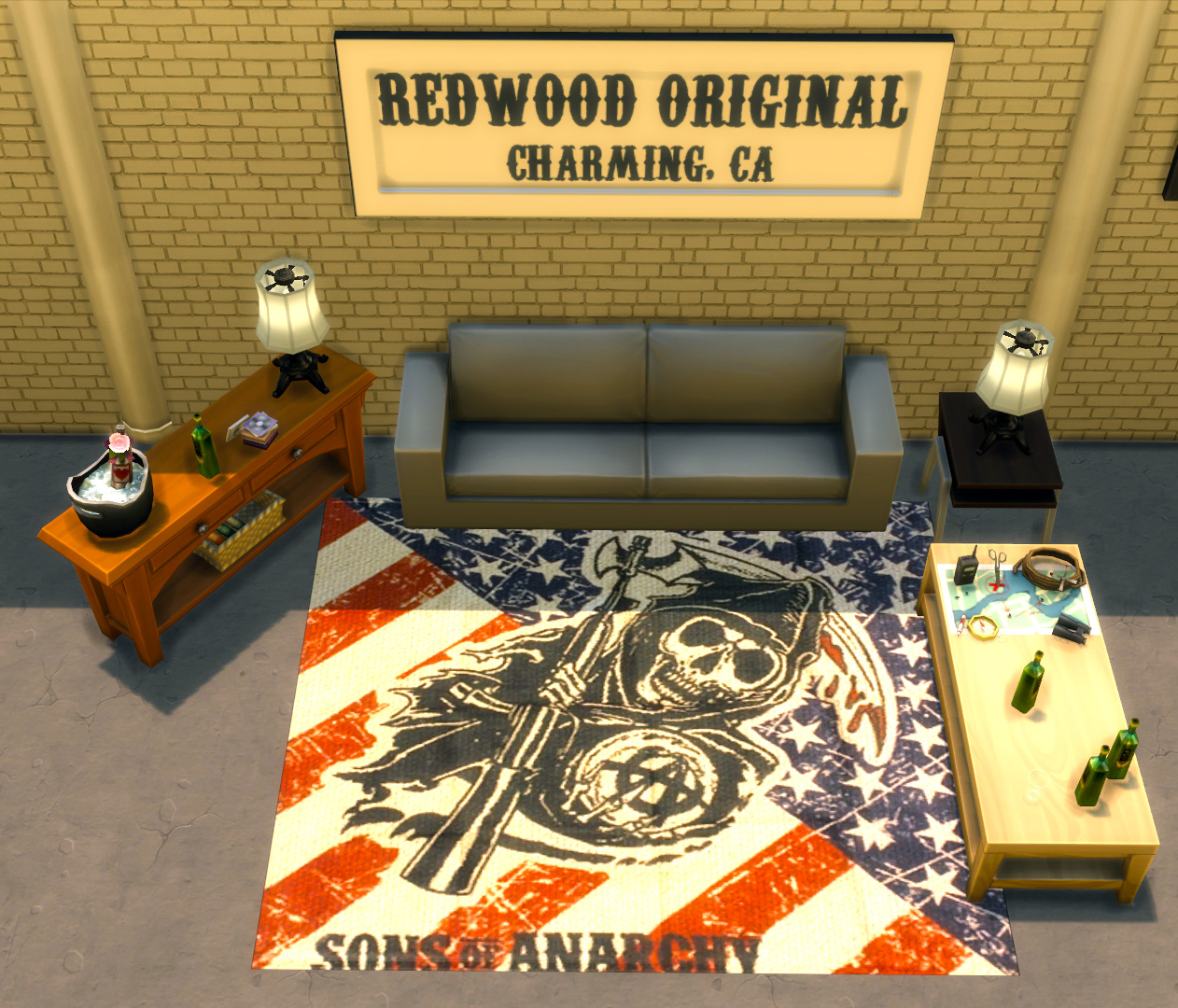 Sons of Anarchy Rugs Pack by Mr. Mayhem