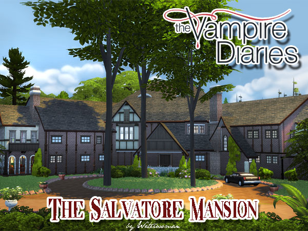 The Salvatore Mansion - No CC by Waterwoman