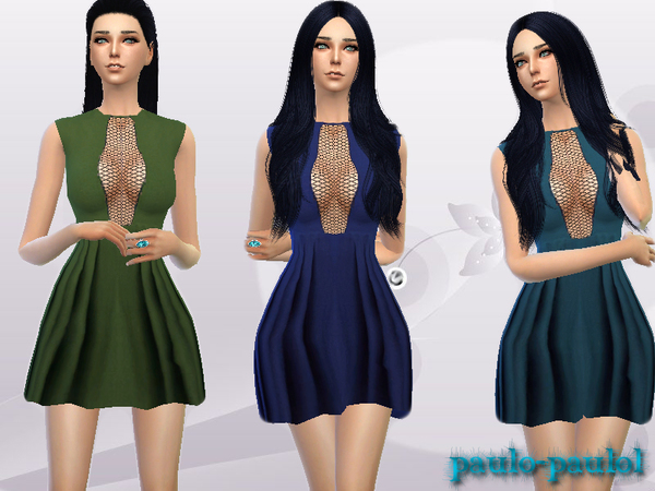 Grid dress by paulo-paulol