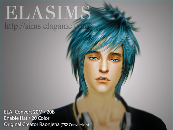 ELA_Convert_Hair20M / 20B by maysims