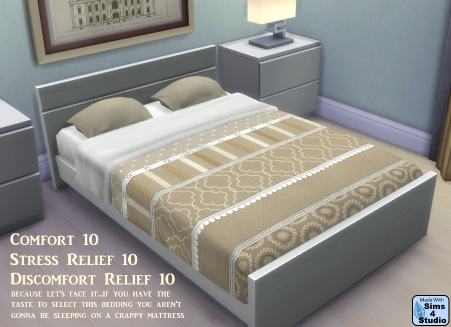 Sophia Bedding Recolors by OM
