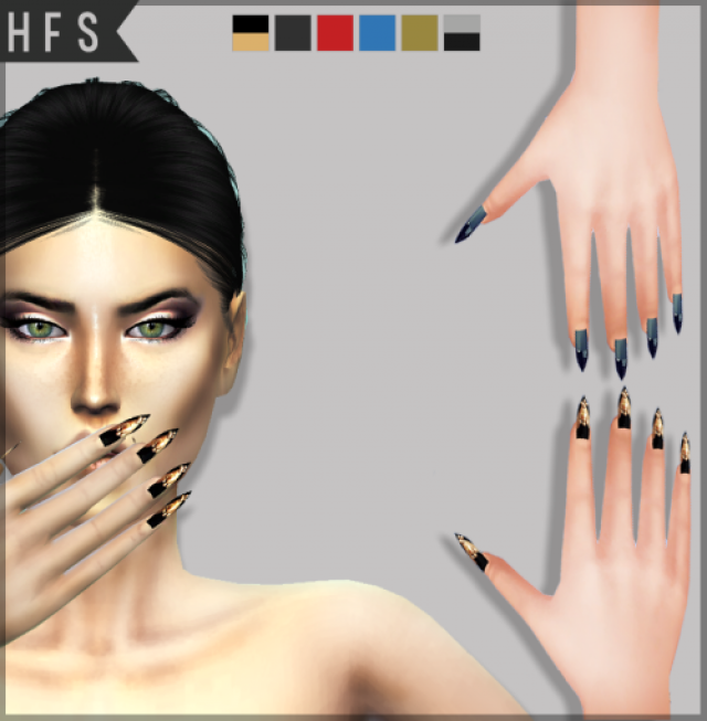 FAME NAILS by hautfashionsims4