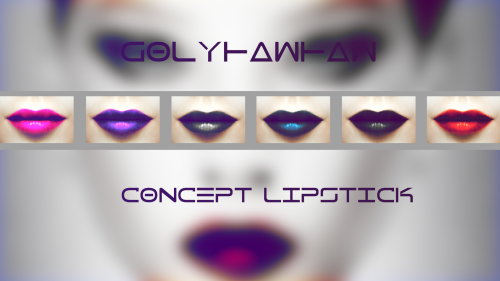 Lipstick Concept by golyhawhaw