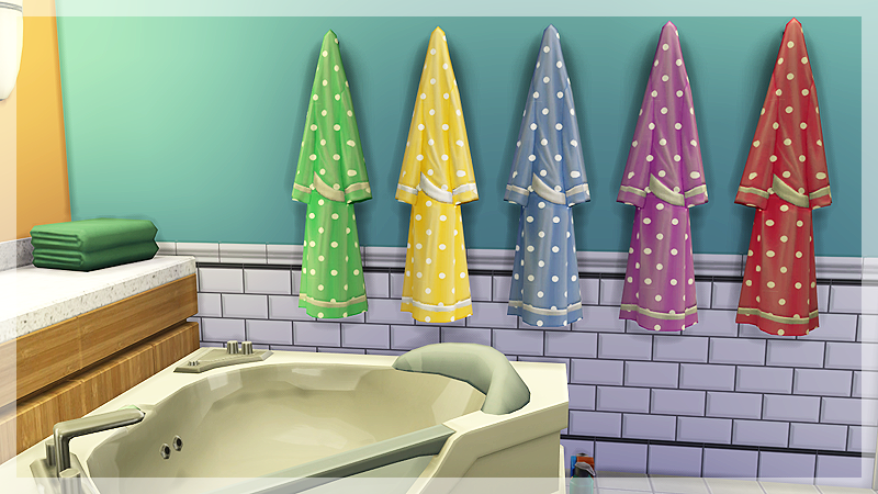 Decorative Bathrobe Recolors by SimmenyCricket