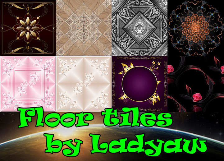 Floor tiles 01 by Ladyaw