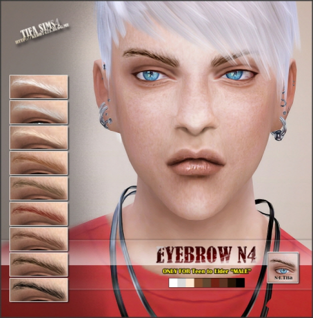 Eyebrows N4 by Tifa