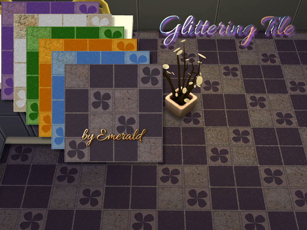 Glittering Tiles by emerald