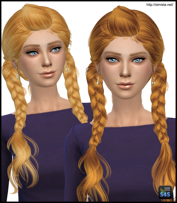 May Hair 03F Retexture at Simista