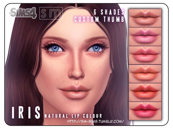 [ Iris ] - Natural Lip Colour by Screaming Mustard