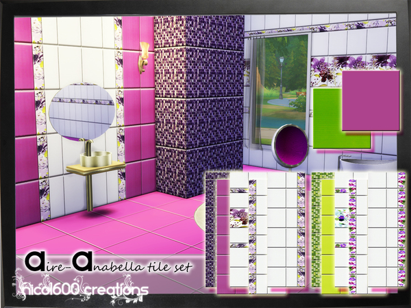 Aire-Anabella tile set by nicol600