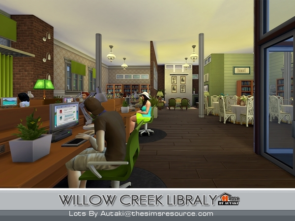 Willow Creek Libraly by autaki