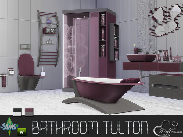 Tulton Bathroom - Recolor Set 1 by BuffSumm