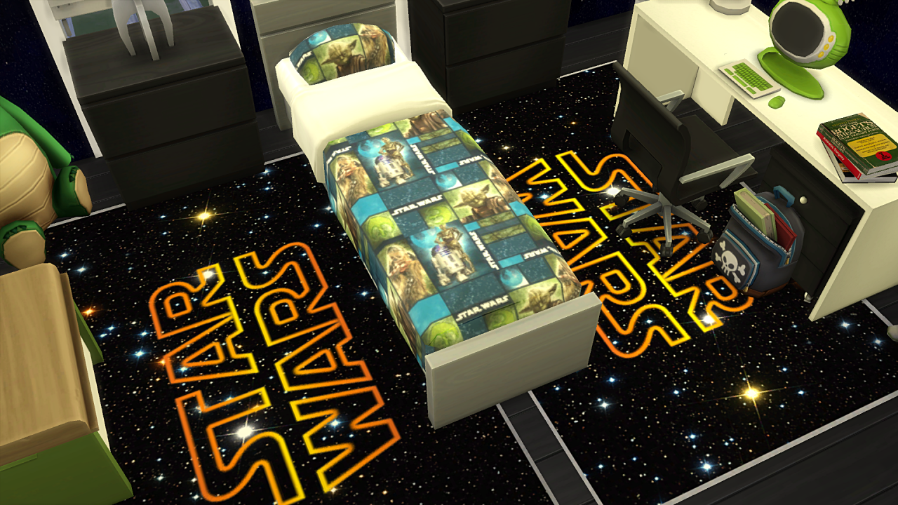 Star Wars Bedroom Recolors by Tacha75