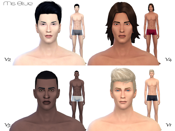 Beauty Skin Male V2 by Ms Blue
