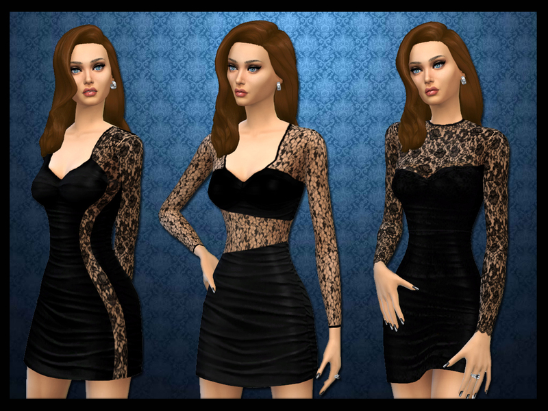 LBD with a lacey twist BY wjewerica