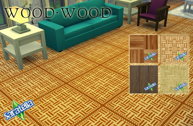 Wood Floors by Saratella