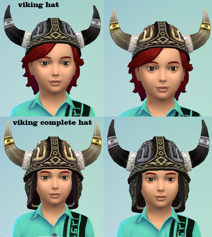 S2 Viking hat conversion Unisex Child to elder. by necrodog