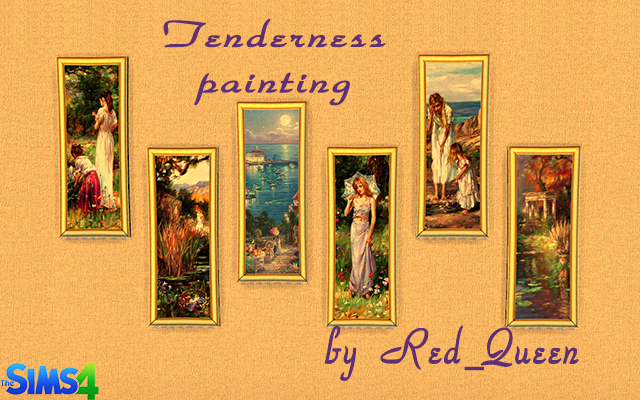 Tenderness Painting by Red_Queen