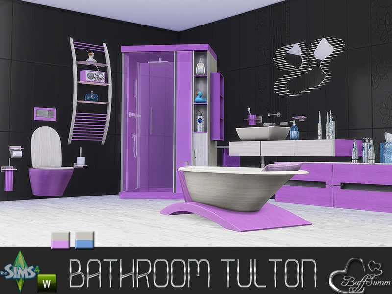 Tulton Bathroom - Recolor Set 2 BY BuffSumm