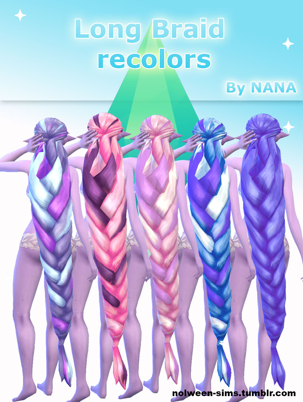 Long Braid recolors by NANA