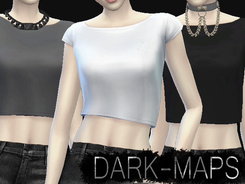 Basic Crop Tops [DM] BY Dark_Maps