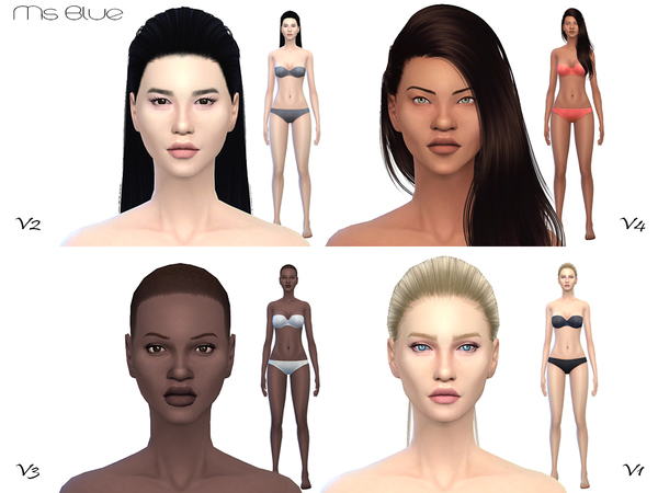 Beauty Skin Female V2 by Ms Blue